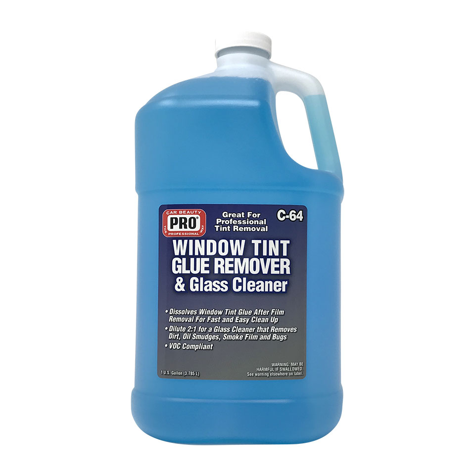 Window Tint Glue Remover Amp Glass Cleaner Pro Car Beauty